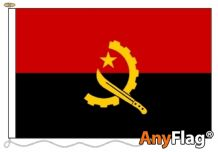 - ANGOLA ANYFLAG RANGE - VARIOUS SIZES)